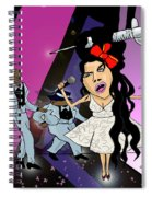 Amy Whinearse Spiral Notebook