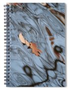 An Abstract Reality Spiral Notebook