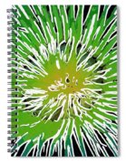 An Abstract Scene Of Sea Anemone 2 Spiral Notebook
