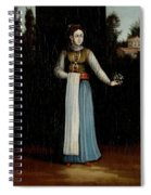 An Albanian Woman Spiral Notebook