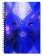 An Alien Visage  Spiral Notebook