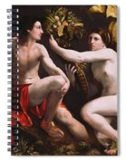 An Allegory Of Fortune 1538 Spiral Notebook