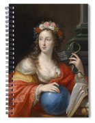 An Allegory Of Intelligence Spiral Notebook