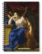 An Allegory Of Poetry Spiral Notebook