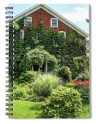 An Amana Garden Spiral Notebook