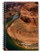 An Amazing Place - Horseshoe Bend Spiral Notebook