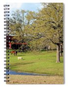 An American Farmer Spiral Notebook