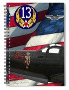 An American P-63 Pof Spiral Notebook