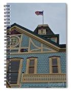 An American Victorian Spiral Notebook