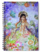 An Angel For All Of The Chakras And Her Name Is Simplicity Spiral Notebook
