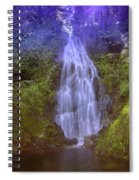 An Angel In The Falls  Spiral Notebook