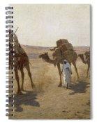 An Arab Caravan Spiral Notebook