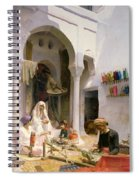 An Arab Weaver Spiral Notebook