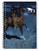 An Arguement With The Town Marshall 1907 Spiral Notebook