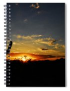 An Arizona Sunrise  Spiral Notebook