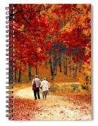 An Autumn Walk Spiral Notebook