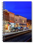 An Early Evening In Ashland Spiral Notebook