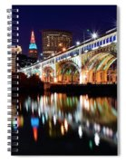 An Early Evening In Cleveland Spiral Notebook