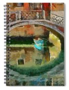 An Early Morning In Venice Spiral Notebook