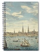 An East Prospective View Of The City Of Philadelphia Spiral Notebook