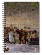 An Egyptian Feast Spiral Notebook