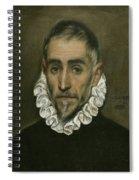 An Elderly Gentleman Spiral Notebook