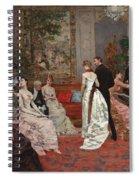 An Elegant Soiree Spiral Notebook