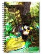 An Enchanted Moment Spiral Notebook