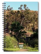 An Entrance To Peters Canyon Spiral Notebook
