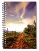 An Evening By The Orchard Spiral Notebook