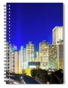 An Evening In Atlanta Spiral Notebook