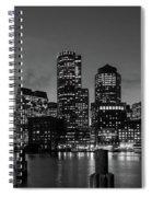 An Evening In Boston Spiral Notebook