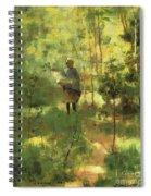 An Impression Dans La Sous Bois Spiral Notebook