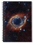 A Look In Infrared At The Helix Nebula Spiral Notebook