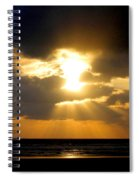 An Inspiring Evening Spiral Notebook