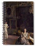 An Interior In Venice Spiral Notebook