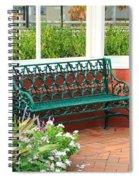 An Inviting Bench Spiral Notebook