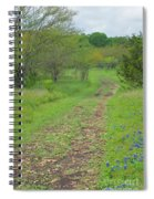 An Inviting Path Spiral Notebook