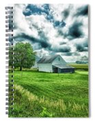 An Iowa Farm Spiral Notebook
