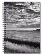 An Iowa Sunset Spiral Notebook