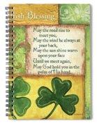 An Irish Blessing Spiral Notebook