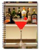 An Italian Drink Spiral Notebook