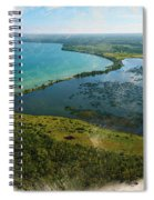 An Oasis On The Prairie Spiral Notebook