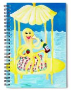 An Octopus Summerhouse Spiral Notebook