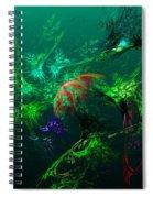 An Octopus's Garden Spiral Notebook