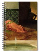 An Odalisque In A Harem Spiral Notebook