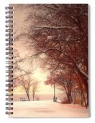 An Okanagan Winter Spiral Notebook