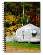 An Old Abandoned House Spiral Notebook
