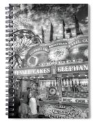 An Old Fashioned Carnival Spiral Notebook