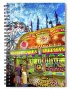 An Old Fashioned Midway Spiral Notebook